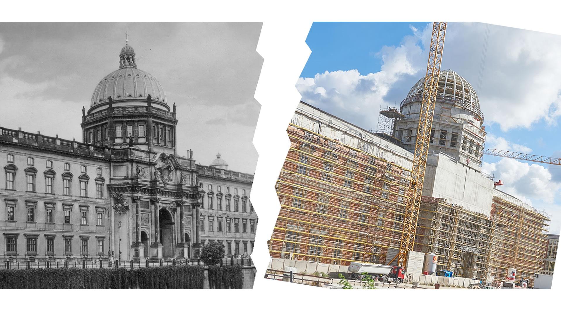 Stadtschloss Berlin Baustelle